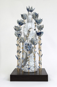 5_Guan Yin encircled by roses