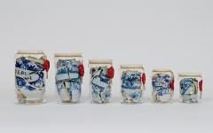 Memory-vessel-graded-drug-jars